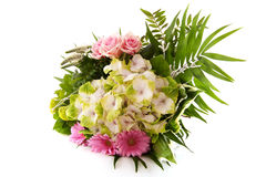 Flower bouquet with Hydrangea Royalty Free Stock Photography