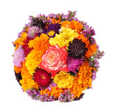 Flower bouquet isolated Stock Image