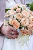 Flower, bouquet, love, day, valentine, marriage, background, hymeneal, rings, decoration, concept, holiday, object, celebration, c. Flower, bouquet, love, day Stock Photos