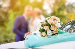 Flower, bouquet, love, day, valentine, marriage, background, hymeneal, rings, decoration, concept, holiday, object. Flower, bouquet, love, day, valentine Royalty Free Stock Photo