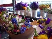 Flower. Bouquet in market in Seattle Royalty Free Stock Photo