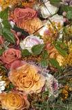 Flower bouquet in orange Royalty Free Stock Image