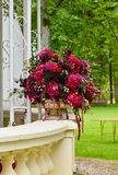 Flower bouquet outdoors Royalty Free Stock Photos