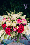 Flower bouquet of roses Royalty Free Stock Images