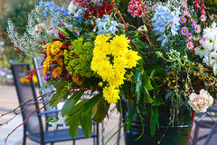 Flower bouquet on spring park Stock Photography