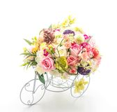 Flower bouquet in vase Royalty Free Stock Photography