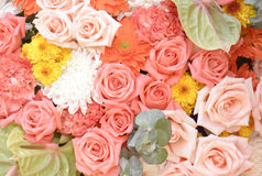 Flower bouquets , bunch of flowers Stock Photo