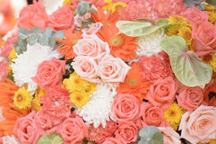 Flower bouquets , bunch of flowers Royalty Free Stock Image