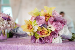 Flower bouquets Stock Photos