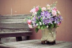 Flower bouquets Stock Photos