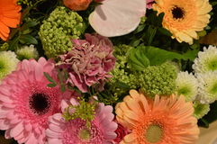 Flower Bouquette From A Shop Stock Images