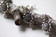 Flower bracelet Royalty Free Stock Images