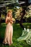 Flower bride Royalty Free Stock Photos
