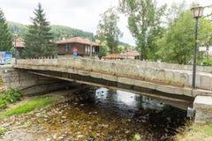Flower Bridge in Koprivshtitsa, Bulgaria Royalty Free Stock Photography