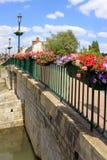 Flower bridge Stock Photos