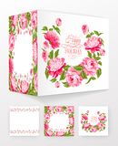 Flower brochure. Royalty Free Stock Photography