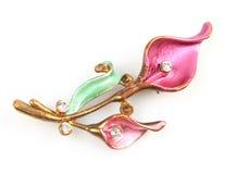 Free Flower Brooch Stock Image - 41076321