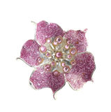 Flower brooches Stock Image