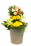 Flower bucket 11 Royalty Free Stock Image