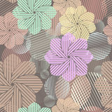 Flower buds pattern. Stock Image