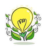 Flower bulb Royalty Free Stock Images