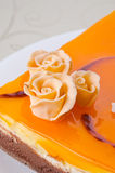 Flower cake Royalty Free Stock Photography