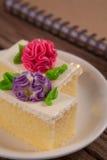 Flower Cake Stock Photos
