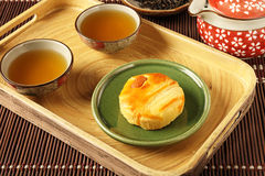 Flower cake. Is Yunnan classic snacks on behalf of Royalty Free Stock Images