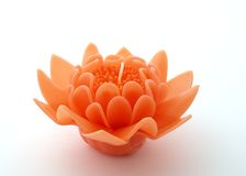 Flower candle Royalty Free Stock Photos