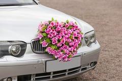 Flower car Stock Images