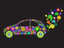 Flower car Royalty Free Stock Photo