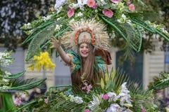 Flower Carnival in Nice, France Stock Image