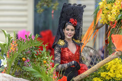 Flower Carnival in Nice, France Stock Photography