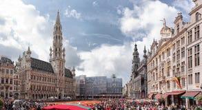 Flower carpet in Brussels, Belgium Stock Images