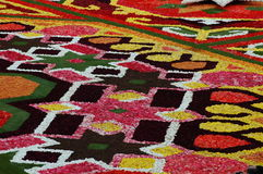 Flower carpet in Brussels Royalty Free Stock Photos