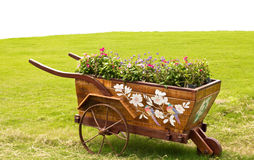 Flower cart. Royalty Free Stock Image