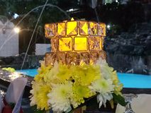 Elegant flower centerpiece Stock Photo