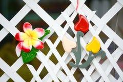 Flower ceramic Stock Photo