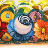 Flower Ceramic Vintage Decoration Royalty Free Stock Photo