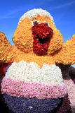 Flower chick - Bloemencorso parade Stock Images