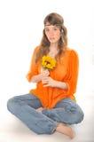 Flower child Royalty Free Stock Photo