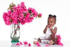 Flower child Stock Images