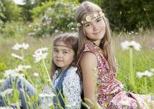 Flower children Royalty Free Stock Photos
