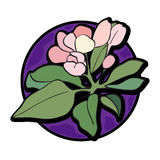 Flower clipart Royalty Free Stock Images