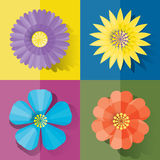 Flower color Stock Photography