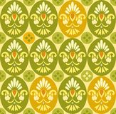 Flower color pattern, ovals and circles. Royalty Free Stock Images