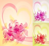 Flower color set 10 EPS Stock Photos
