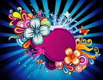 Flower color vector Royalty Free Stock Photos