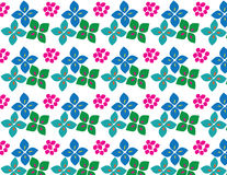 Flower colours patterns royalty free illustration