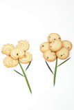 Flower-cookie Stock Images